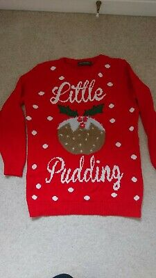 BLOOMING MARVELOUS maternity Christmas jumper - small size