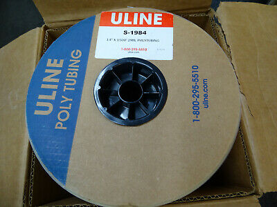 "New Uline 14"" x 1500' 2mil Poly Tubing Model S-1984"