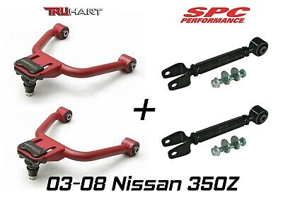 Truhart Adjustable Front & SPC Rear Camber for 03-08 Nissan 350Z
