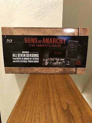 Sons of Anarchy: The Complete Series (Blu-ray Disc, 2015, 23-Disc Set)