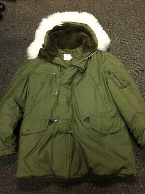 Parka Extreme Cold weather N3B Genuine US Military Worn twice