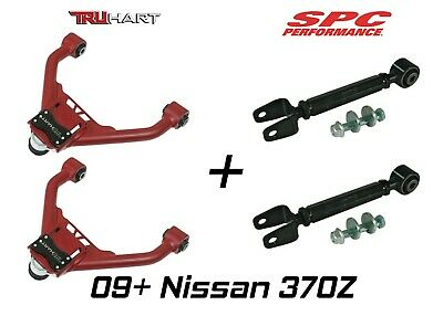 Truhart Adjustable Front & SPC Rear Camber Kit Combo fits 09+ Nissan 370Z