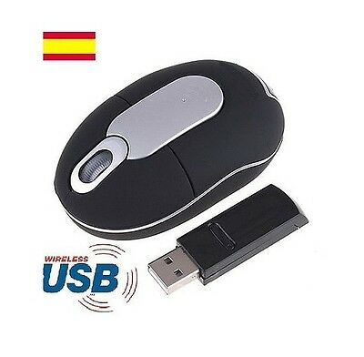 Raton Mouse Inalambrico Optico Usb Sin Cables Para Pc Portatil Ordenador