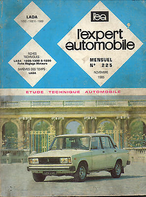 RTA revue technique l'expert automobile n ° 225 LADA 1200 1300 1500
