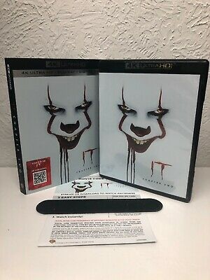 It Chapter 2 4K Disc + Digital UHD (No Blu Ray Disc Included) Please Read