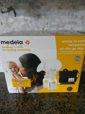 NEW Medela Pump In Style Advanced Double Electric Breast Pump On the Go Tote Bag