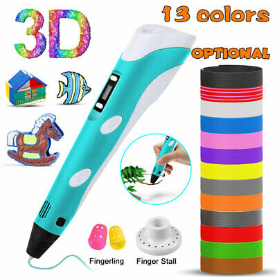 3D Printing Drawing Pen Modeling 12 Colors PLA Filament Refill Kid Art DIY Craft