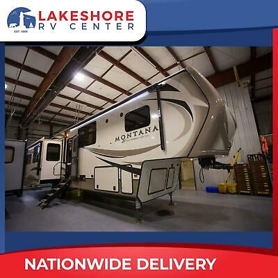 Front Master Suite Montana 3810MS Fifth Wheel RV Camper Trailer 2019