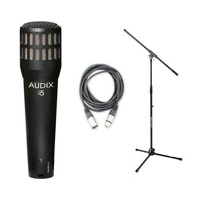 Audix i5 w/ 20ft XLR Cable and Boom NEW BUNDLE