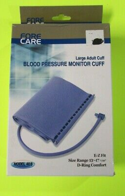 Fore Care Large Adult Blood Pressure Monitor Cuff Replacement Model 6000-6400