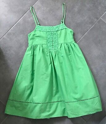 Marks and Spencer's Autograph Age 9 Girls strappy dress sundress - green