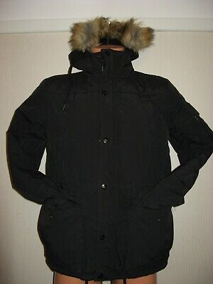 Worn Once Boys Blue Stripe Tommy Hilfiger Short Sleeve Polo Shirt Age 14-15-16