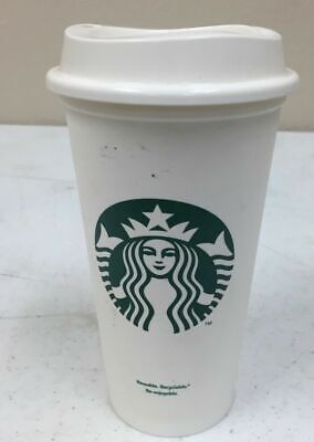 Classic Starbucks Reusable Plastic Coffee Tea Cup Tumbler Recyclable Mugs 16 A5