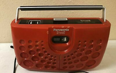 Panasonic RS-833S Double Dynamite Stereo 8 Track Player A3E