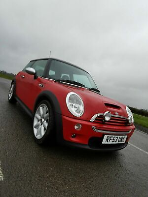 2003 Mini Cooper S Chilli Red Low Mileage Excellent Example Supercharged