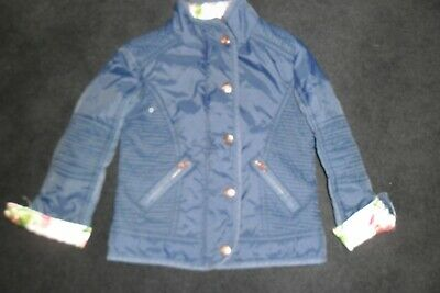 Pretty Girls Ted Baker Coat Age 4 - 5 Years - Vgc
