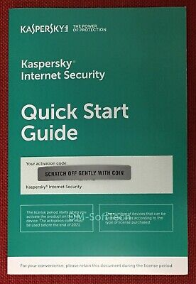 Kaspersky Internet Security 2019 with Anti-Virus, 3 PC (Exp. Date: 9/17/2020)