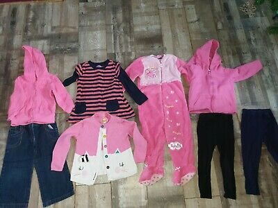 Girls Lovely Bundle of Winter Clothes Age 2-3 Years by George, TU, F&F & Nutmeg
