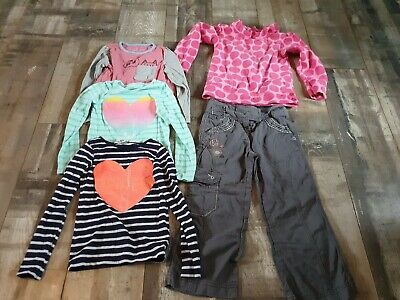 Girls Lovely Small Bundle of Winter Clothes Age 4-5 Years by M&S, Next & H&M