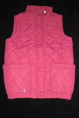 Girls Pink Joules Gillet / Body Warmer Tom Joules Circus Range Age 8 Yrs -Ex Con