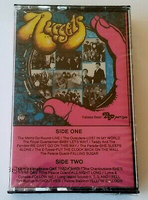 Nuggets Volume Four : Pop Part Two (Rhino Cassette) Sealed 60's Psych