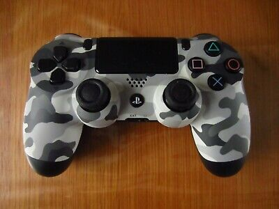 Official Sony Dual Shock 4 Urban Camo, Camouflage Controller - Excellent