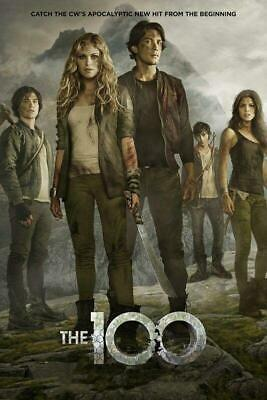 Poster The 100 Cento Serie Tv Eliza Taylor Clark Bellamy Octavia Finn Lincoln #6