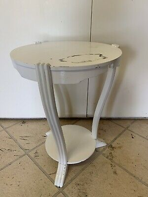 Art Deco Side wooden Table