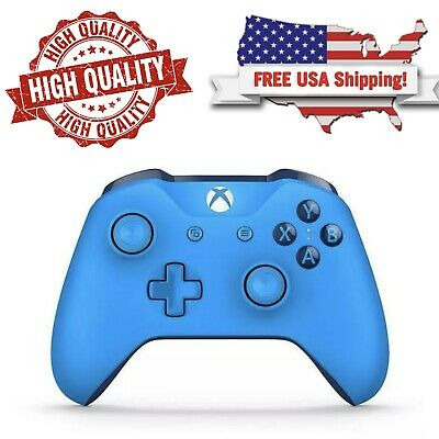 Microsoft Xbox One S Wireless Controller | Blue | Model 1708