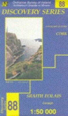 Cork: Discovery Map No. 88 by Ordnance Survey Ireland Sheet map, folded Book The