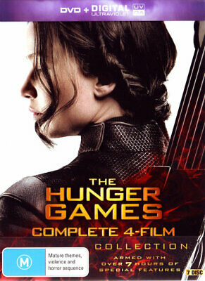The Hunger Games: Complete 4-Film Collection (The Hunger Games/The [New Dvd]