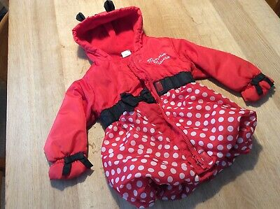 Minnie Mouse girls coat 2-3 yrs