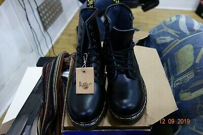 Classic Dr Doc Martens Airwair 1460 Ankle Boots Leather 8-Eye Womens Mens