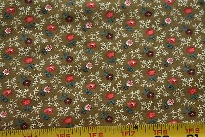 Cranston By 1//2 Yd M7667 Pink Floral on Navy Quilting Cotton