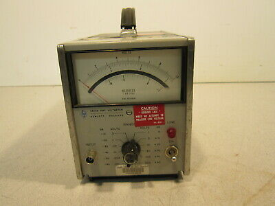 HP 3400ARMS Voltmeter 3rd Generartion AC 10Mhz 6 Available for Purchase