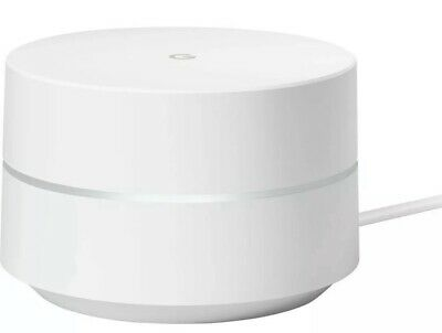 Google WiFi AC1200 Dual-band Mesh Wi-fi Router - White New Factory Sealed