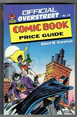 Overstreet COMIC BOOK PRICE GUIDE #19   Jerry Robinson JOKER Cover!   VF-   1989
