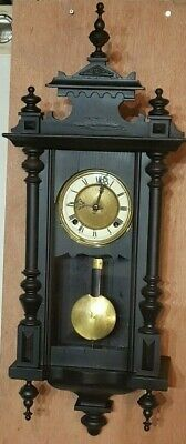 Vienna Wall Clock Small Size Spring Driven Parts Spares Repairs