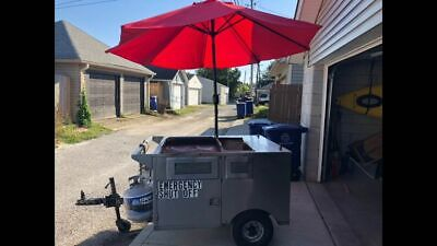 Used Street Food Vending Cart / Hot Dog Cart in Marvelous Shape for Sale in Ohio