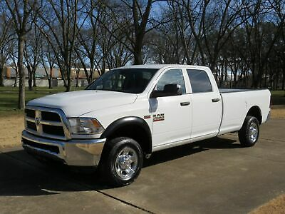 2013 Ram 2500 Tradesman Crew Cab 4WD LWB 1 Owner One Owner Perfect Carfax Long Wheel Base Crew Cab 4WD MSRP New $38730