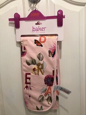 Ted Baker Baby Girls Floral Pink Blanket Brand New On Board Current