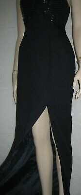 Moa formal occasion/special party event tailored fitted wiggle maxi dress 10/ 12
