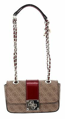 Guess Eileen Convertible Xbody Flap Brown Multi in braun