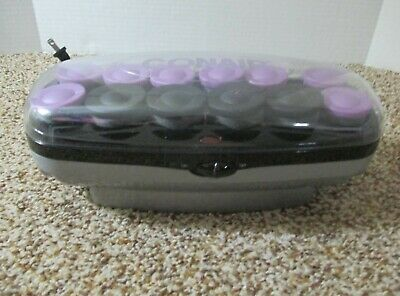 Conair  Xtreme Instant Heat 8 Large & 4 Jumbo Ceramic Hot Rollers Model Chv14Jx