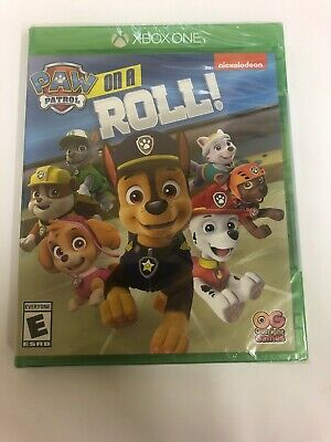 Paw Patrol on a Roll Xbox One Nickelodeon Video Game NEW SEALED!! Free Shipping!