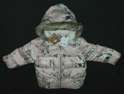Next Girls Coat with Hood 2-3 Years BNWT