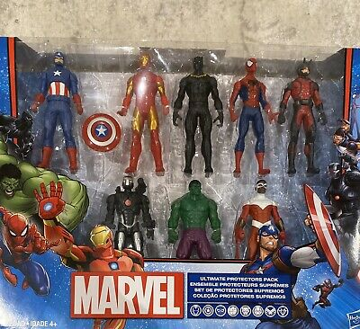 Marvel Avengers Ultimate Protectors Pack Action Figures 8 Pack