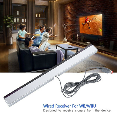 Infrared IR Signal Ray Sensor induction Bar Receiver for Wii Wii U Remote Motion