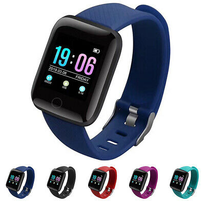 Fitness Smart Watch Band Sport Activity Tracker For Kids Fitbit Android iOS UK