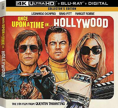 Once Upon A Time In Hollywood Collector's Edition 4K+ Blu-ray+ Digital - SEALED!